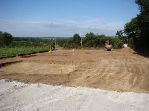 builder on site July 17