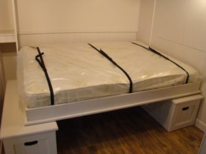 Fold down bed