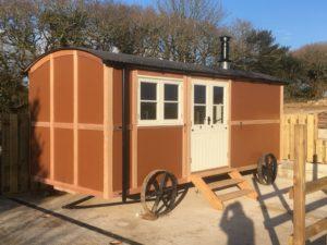 hut installation