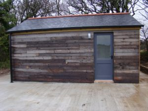 Utilities hut