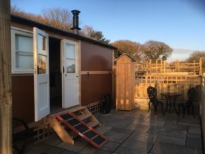 Our superb Shepherd's Hut