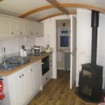 Kitchen and log burner
