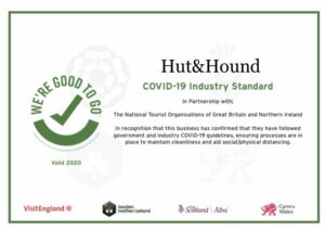 Visit England Covid Safety Certificate